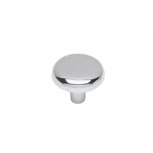 Meubelknop ø 28 mm chroom