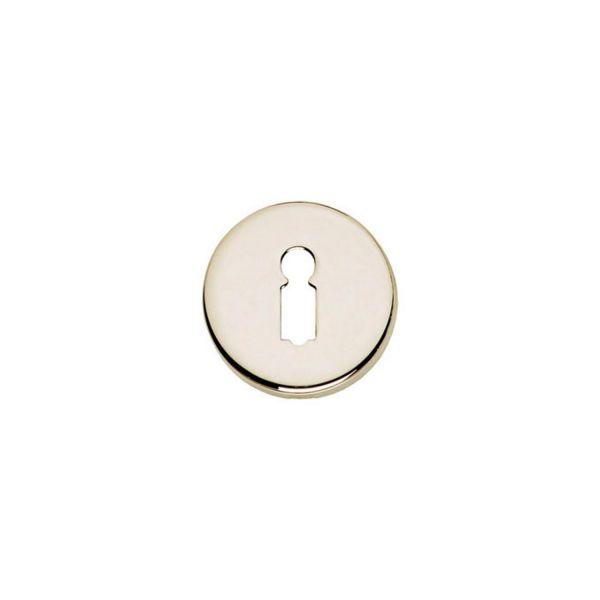 Rozet sleutelgat rond verdekt nikkel