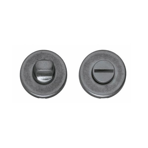 Rozet toilet-/badkamersluiting oud grijs