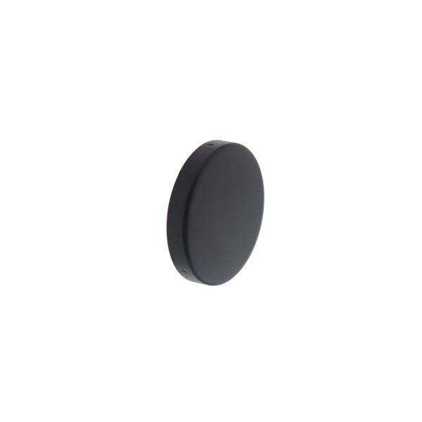 Rozet blind mat zwart