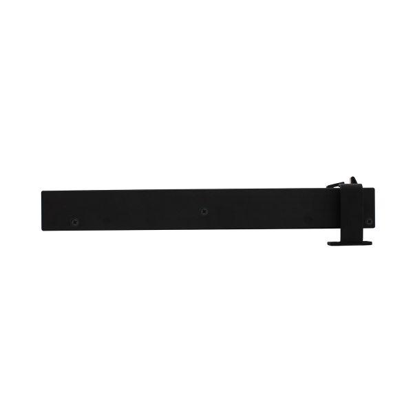 Schuifdeursysteem – sluitvertrager mat zwart