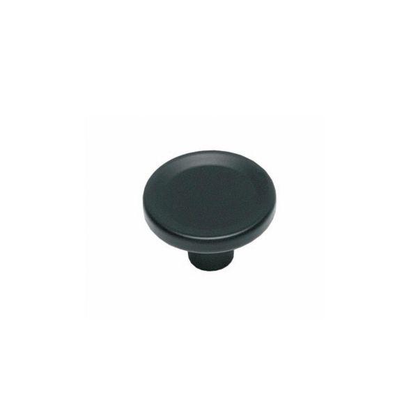 Meubelknop ø 44 mm mat zwart