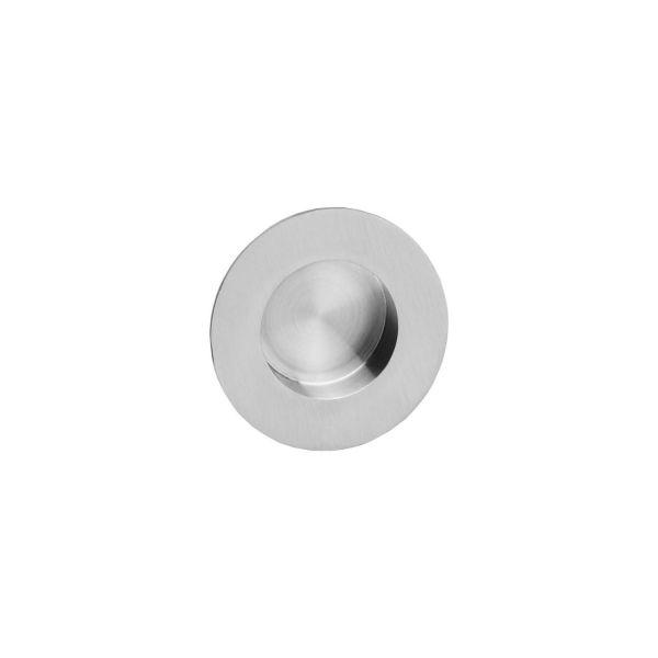 Schuifdeurkom ø34/55 mm rvs geborsteld