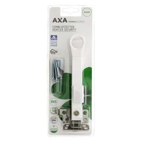 Axa raamuitzetter Axaflex, type 2660, SKG**, wegdraaibaar/afsluitbaar Roestvast staal ral 9010