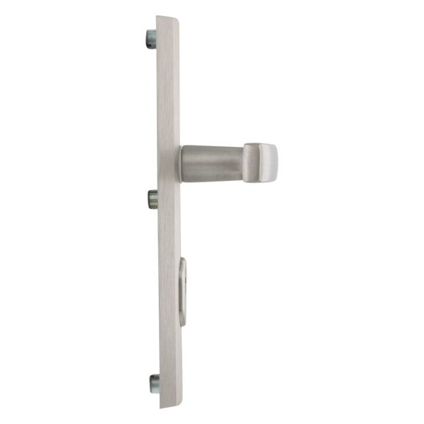 AXA Veiligheidsbeslag kruk/kruk 72 mm SKG3 anti-kerntrekbeveiliging RVS-Look