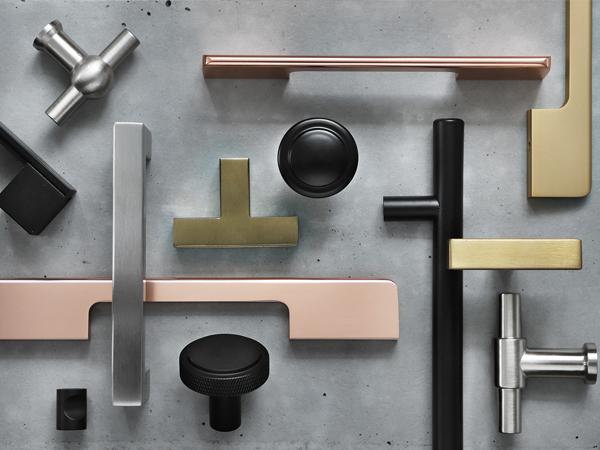 Nieuwe serie meubelgrepen en meubelknoppen in allerlei kleuren!